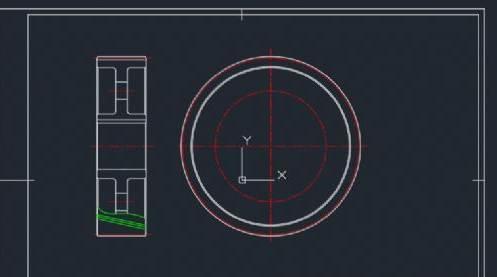 CAD中如何绘制齿轮零件