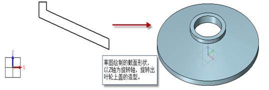 CAD中如何创建叶轮三维模型