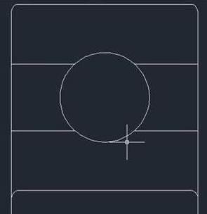 CAD中如何绘制深沟球轴承