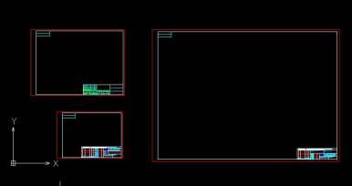 CAD中如何使用图框