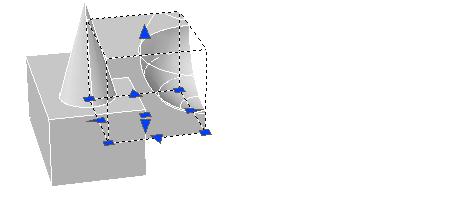 CAD修改复合实体和曲面的方法