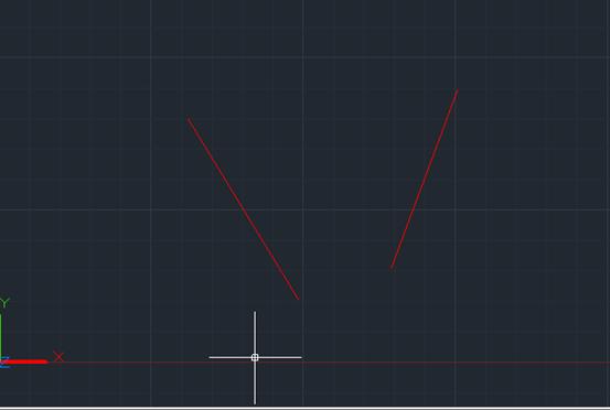 CAD延伸边界假想的方法