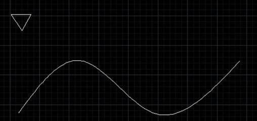 CAD定距等分教程之CAD如何应用定距等分让特定图形沿某一曲线排列