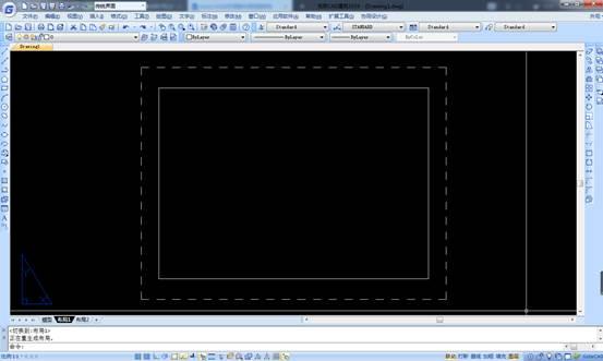 CAD中如何生成布局图纸