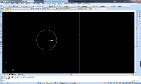 CAD 中如何设置命令行