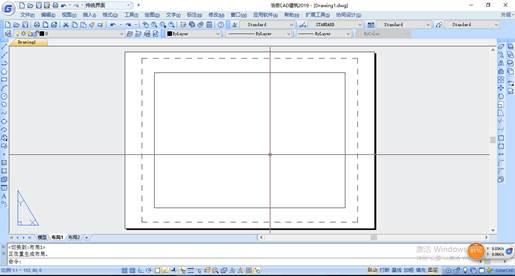 CAD布局中如何显示虚线