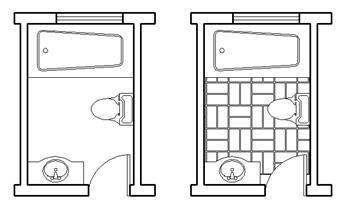 CAD中如何使用区域填充