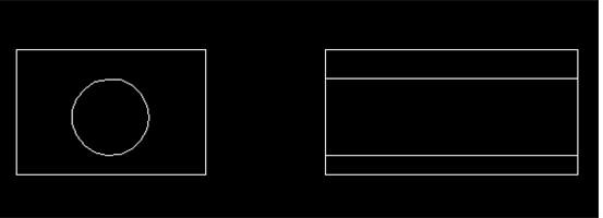 CAD中如何绘制三视图