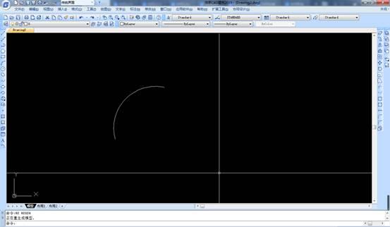 CAD绘图中如何使圆弧圆滑