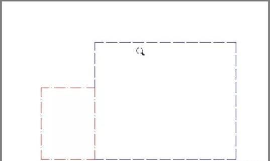 CAD布局空间中虚线显示为实线怎么办