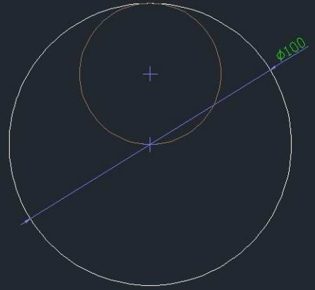 CAD绘制圆形组合图案的方法