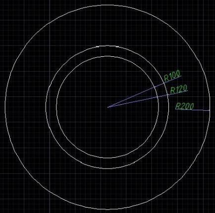 CAD绘制圆形齿轮图形的操作过程