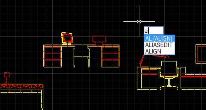 CAD对齐命令如何使用