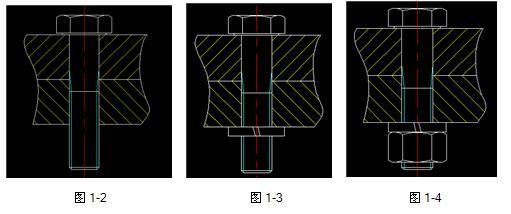 浩辰CAD2019快速绘制螺钉紧固件