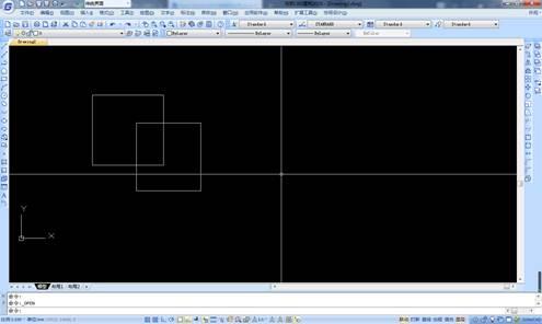 CAD软件中工具菜单栏的调用