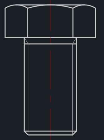 CAD中创建图块的过程