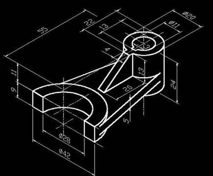 CAD三维建模的过程