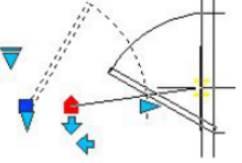 CAD中动态块的使用