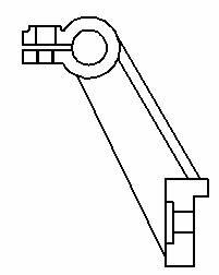 CAD中支架的三维建模过程
