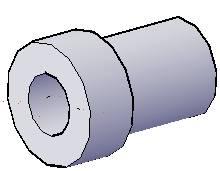 CAD中缸体的三维建模过程