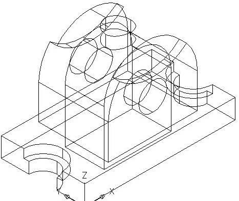 CAD三维模型的着色过程