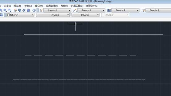 CAD画虚线具体操作
