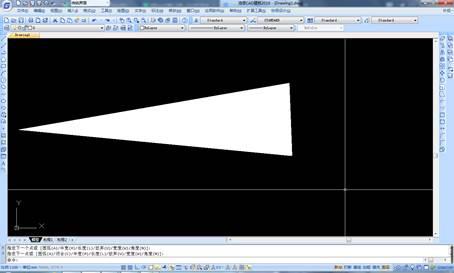 CAD绘制箭头的方法