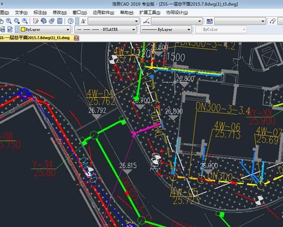 CAD绘制虚线具体应用