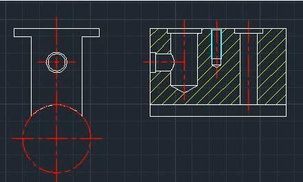 浩辰CAD绘制压板零件图的秘笈