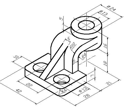 CAD经典的三维建模习题