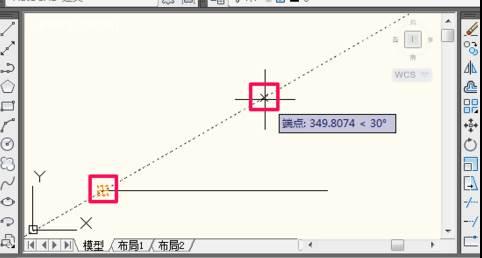 CAD如何画角度