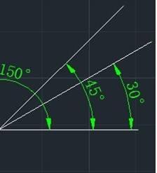 CAD中怎么标注角度?CAD角度标注快捷键命令