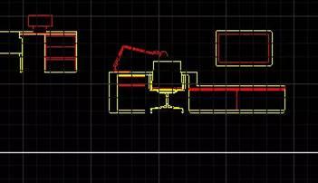 CAD对齐命令教程之对齐图块