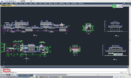 CAD镜像文字教程之CAD镜像过来的的文字是倒的怎么办