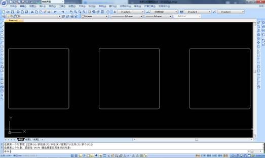 CAD中连续倒角的使用