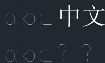 CAD复制粘贴后字体改变的解决办法