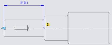 CAD动态块中链动作的使用