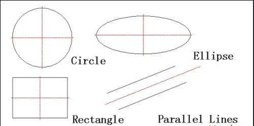 CAD绘制中心线教程之快速绘制中心线