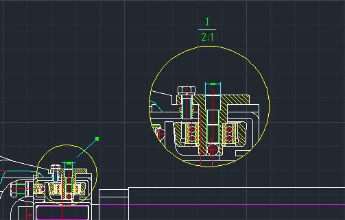CAD视图教程之浩辰CAD创建局部视图