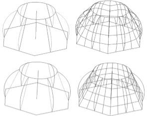CAD三维模型教程之浩辰CAD放样生成三维实体模型