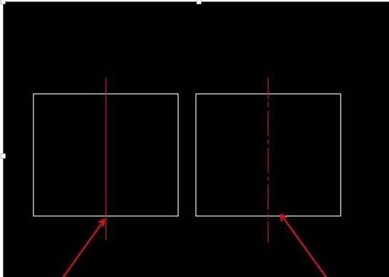 CAD绘制中心线如何突出