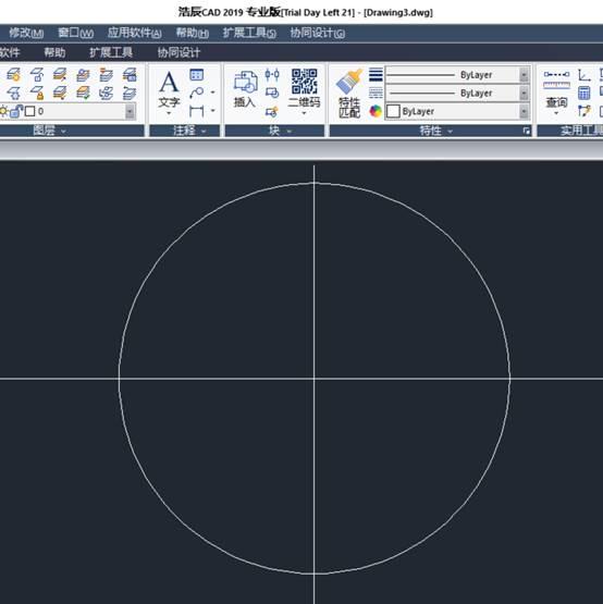 CAD画圆相切办法