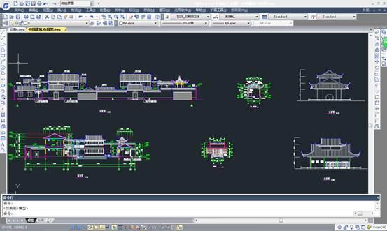CAD视图教程之浩辰CAD向视图的创建