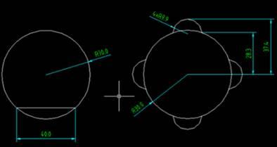 CAD临时追踪点的使用