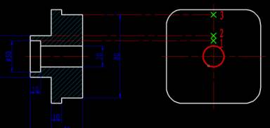 CAD偏移功能的使用