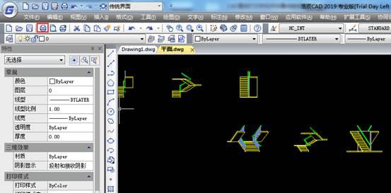 CAD图纸打印教程:按线宽打印设置