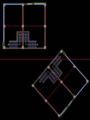 CAD旋转图形的方法