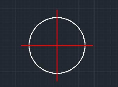 浩辰CAD圆的中心线怎么画