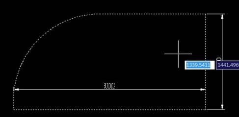 CAD圆角教程之浩辰CAD怎么把矩形的一个角变成圆角