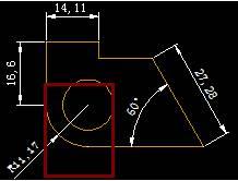 CAD圆弧标注延迟线教程之CAD怎样去掉圆弧标注的延长线